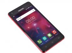 смартфон philips v377 xenium (black+red) 2sim/ 5