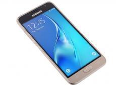 Смартфон Samsung Galaxy J1 (2016) SM-J120F (золотой) DS