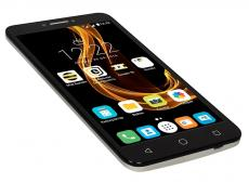 смартфон alcatel 9001d pixi 4 (2 sim) (metal silver)