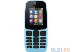Мобильный телефон Nokia 105 DS Blue (2017)