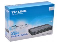 Коммутатор TP-LINK TL-SG1008D 8-port Gigabit Switch, plastic case