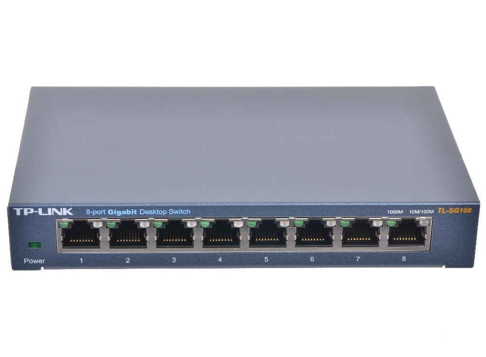 Коммутатор TP-LINK TL-SG108
