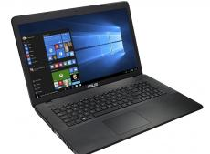 ноутбук asus x751sj pentium n3700 (1.6)/4gb/500gb/17.3