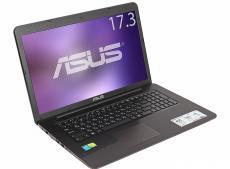 ноутбук asus x756uv i3-6100u (2.3)/4gb/1tb/17.3