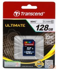 SDXC Transcend 128Gb Class10 (TS128GSDXC10)