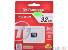 MicroSDHC Transcend 32GB Class10 (TS32GUSDC10)