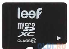Карта памяти MicroSDHC 128GB Leef Class10 (LMSA0KK128R5) с адаптером