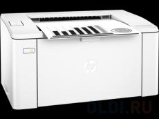 Принтер HP LaserJet Pro M104w RU лазерный Настольный бытовой / черно-белый / 22 стр/м / 1200x1200 dpi / A4 / USB, Wi-Fi