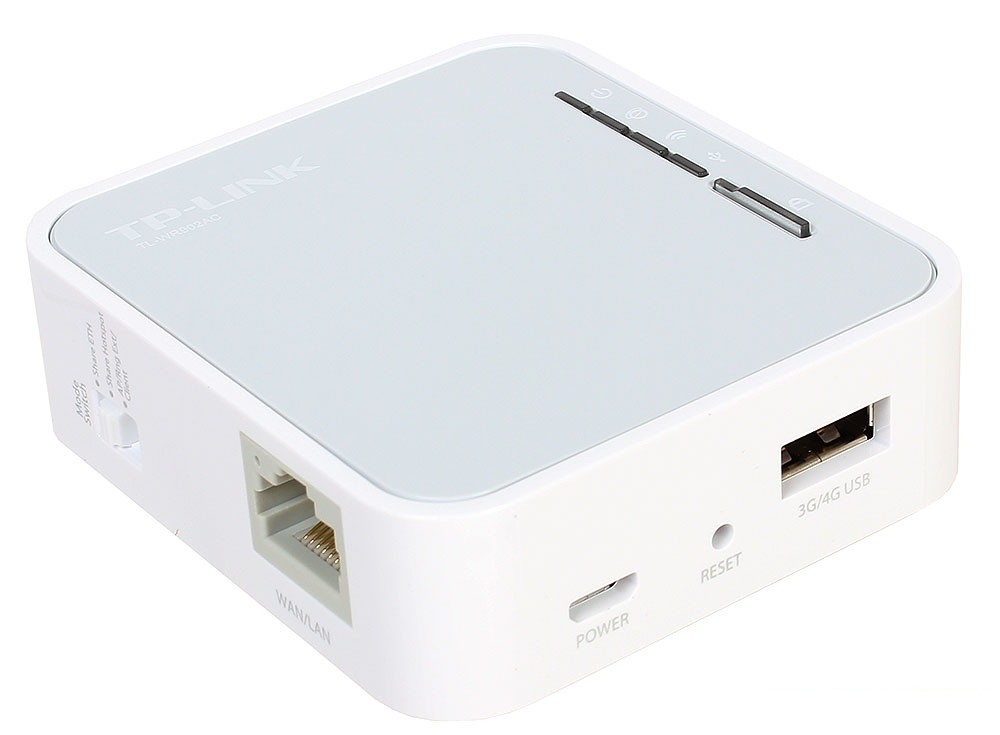 Маршрутизатор TP-LINK TL-WR902AC AC750 Портативный Wi-Fi роутер