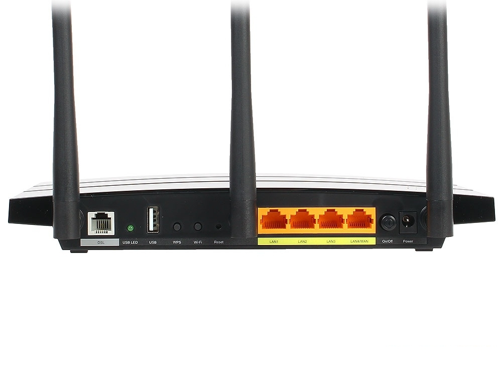 Маршрутизатор TP-LINK Archer VR400 AC1200 Wi-Fi роутер с VDSL/ADSL модемом
