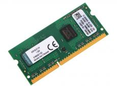 Память SO-DIMM DDR3 4096 Mb (pc-12800) 1600MHz Kingston, 1.35V, CL11 (Retail) (KVR16LS11/4)