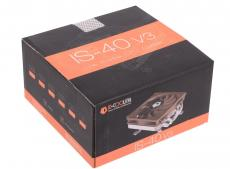 Кулер ID-Cooling IS-40V3 (95W/PWM/Intel 775,115*/AMD/ Low profile/Screws)
