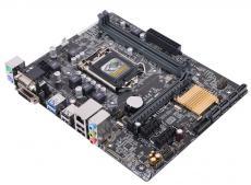 Материнская плата ASUS H110M-K (S1151, iH110, 2*DDR4, 1xPCI-Ex6, 2xPCI-Ex1, SATA3, 2xUSB 3.0, D-SUB, DVI-D, mATX, Retail)