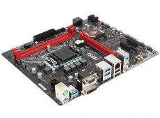 Материнская плата MSI H110M GAMING (S1151, H110, 2*DDR4, PCI-E16x, VGA, HDMI, DVI, SATA III, GB Lan, USB3.0, mATX, Retail)