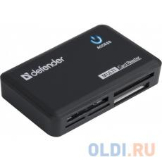 Картридер Defender OPTIMUS USB 2.0 Black