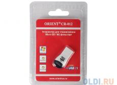 картридер orient mini cr-012black-red