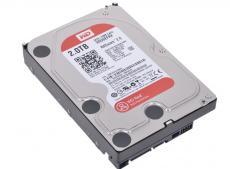 Жесткий диск 2Tb Western Digital WD20EFRX Caviar Red, SATA III [IntelliPower, 64Mb, for NAS]