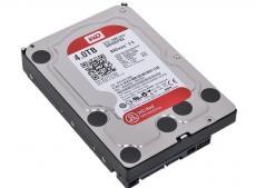 Жесткий диск 4Tb Western Digital WD40EFRX Caviar Red, SATA III (IntelliPower, 64Mb, for NAS)