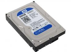 Жесткий диск Western Digital WD Blue Desktop WD5000AZLX 500GB SATA III/3.5