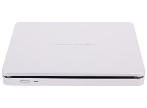 Оптич. накопитель ext. DVD±RW LG (HLDS) GP70NS50 Silver (USB 2.0, Slot-in, Retail)