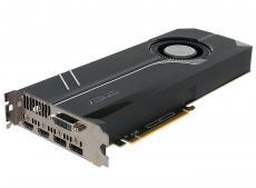 Видеокарта 8Gb (PCI-E) ASUS TURBO-GTX1070-8G (GTX1070, GDDR5, 256bit, DVI, HDMI, DP, Retail)