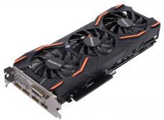 Видеокарта 8Gb (PCI-E) GIGABYTE GTX 1080 WINDFORCE OC 8G GV-N1080WF3OC-8GD (GTX1080, GDDR5X, 256bit, HDCP, DVI, HDMI, 3*DP, Retail)