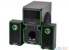 Колонки Dialog Progressive AP-222B black 2.1, 30W+2*10W RMS, Bluetooth, USB+SD reader