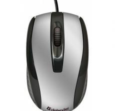 Мышь Defender Optimum MM-140 USB S(Серебро) 2кн+кл 800dpi