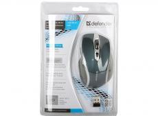 Мышь Defender Safari MM-675 Nano Sky (син),5кн+кл,800/1200/1600 dpi  беспроводная