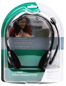 (981-000271) гарнитура logitech headset h110