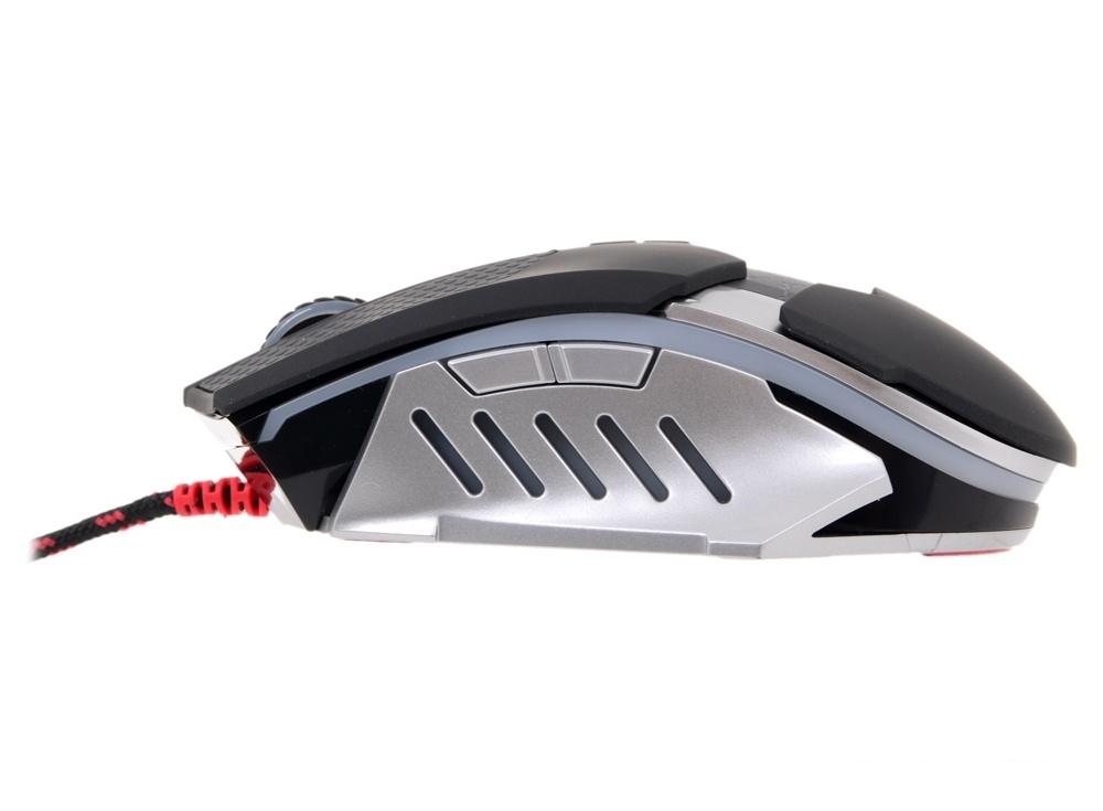 Мышь A4 Bloody T50 Winner черный/серый оптическая (4000dpi) USB2.0 игровая (8but)