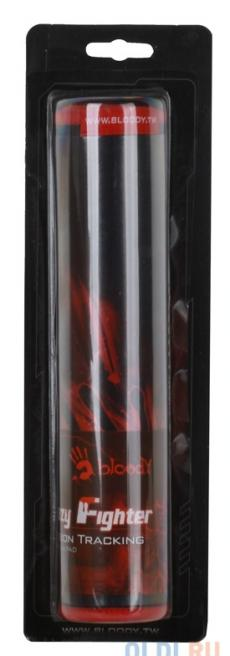 Коврик для мыши  A4tech B-072  Игровой, покрытие микрофибра, прорезиненная основа Bloody Soldier, 27.5см * 22.5см * 0.4cм