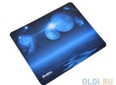 Коврик для мыши SVEN SA (8 рисунков), 220х180х0,7 мм, материал: 100% полиэстер + полиуретан