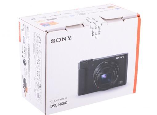 Фотоаппарат SONY DSC-HX90 Black (18.2Mp, 30x zoom, 3