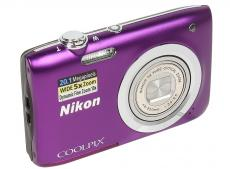 Фотоаппарат Nikon Coolpix A100 Purple (20.1Mp, 5x zoom, SD, USB, 2.6