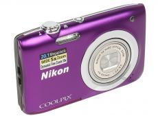 Фотоаппарат Nikon Coolpix A100 Purple (20.1Mp, 5x zoom, SD, USB, 2.6