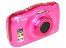 Фотоаппарат Nikon Coolpix W100 Pink Backpack KIT (13.2Mp, 3x zoom, 2.7