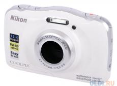 Фотоаппарат Nikon Coolpix W100 White Backpack KIT (13.2Mp, 3x zoom, 2.7