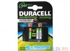 Аккумуляторы DURACELL HR03-2BL 850mAh
