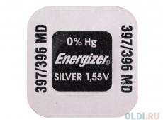 Батарейки Energizer Silver Oxide 397/396 1шт. (637332)