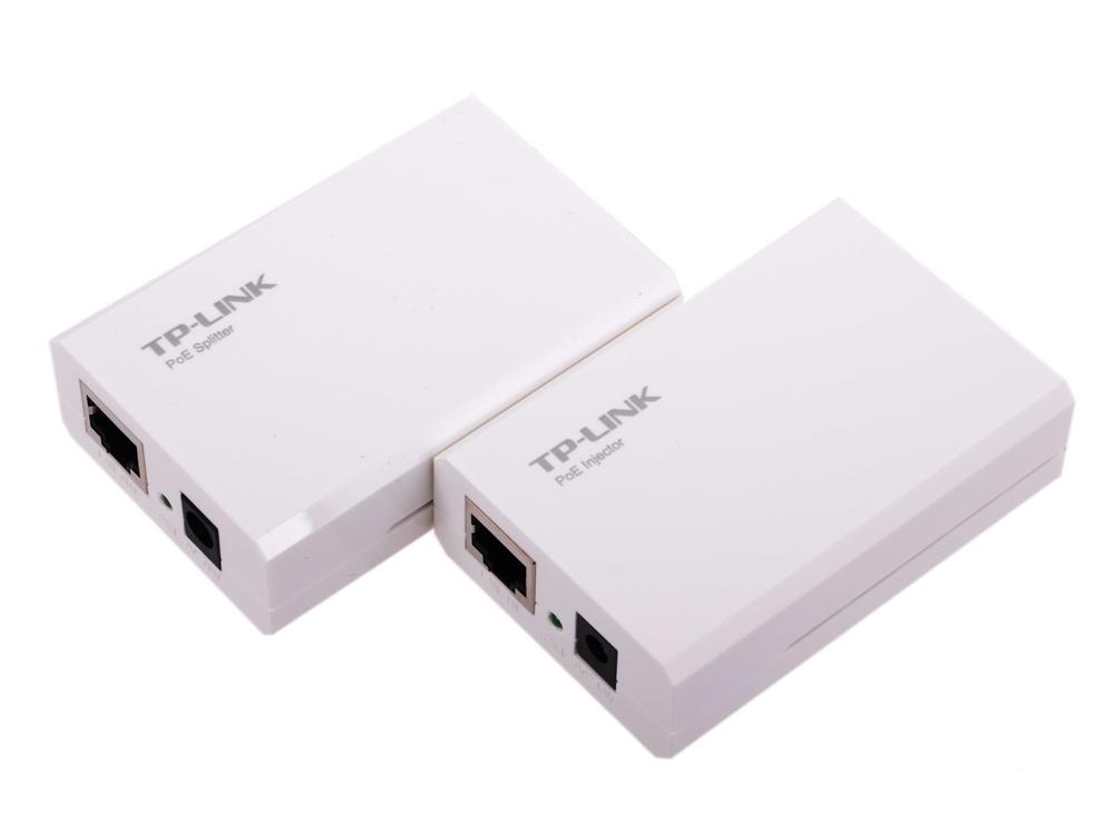 Набор PoE адаптеров TP-LINK TL-POE200 инжектор + сплиттер, до 100м