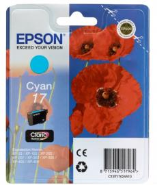Картридж Epson Original T17024A10 Expression Home XP голубой