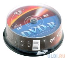 dvd-r vs 4.7gb 16х 25шт cake box