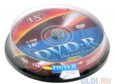 dvd-r vs 4.7gb 16х 10шт cake box printable