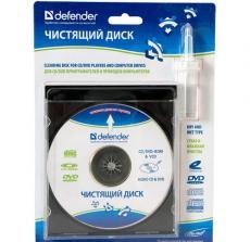 Чистящий набор Defender CLN 36903 диск CD/DVD (CD + чист.жидк.20мл)