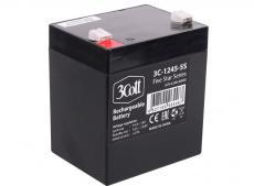 Аккумулятор для ИБП 3Cott 3C-1245-5S, 12 В, 4,5 Ач 5 Star Series