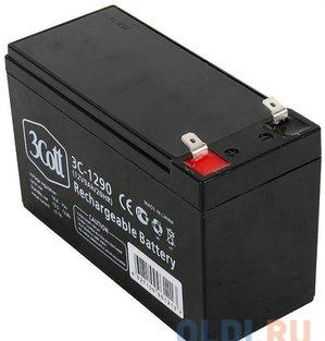 аккумулятор для ибп 3cott 3c-1290-5s, 12 в, 9 ач 5 star series