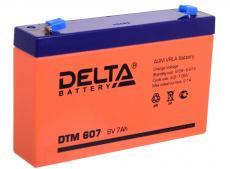 аккумуляторная батарея dtm 607 delta