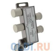 Сплиттер (краб, делитель TV) 1)4 Belsis Sparks BL1076 На 4 направления под F разъем 5-1000мгц
