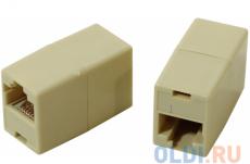 Модули RJ-45 - RJ-45 проходной, кат. 5e, VCOM (VTE7713 ), 10шт в пакете
